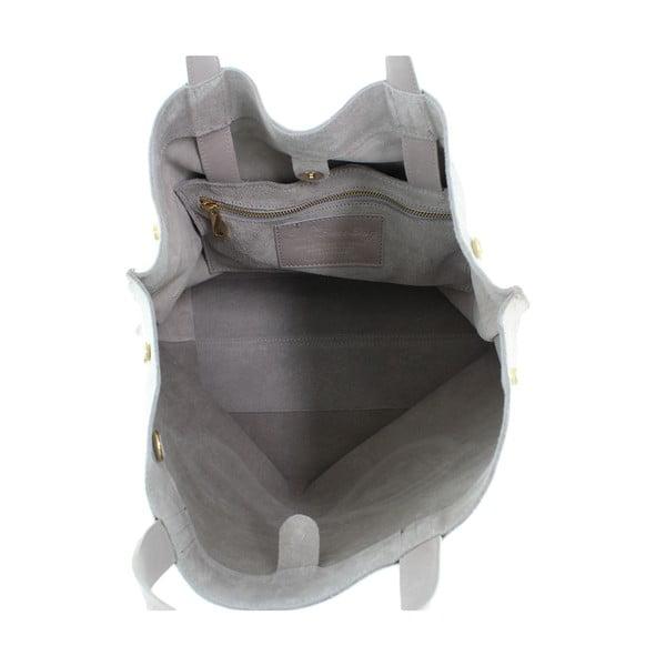Kožená kabelka Wink, béžová