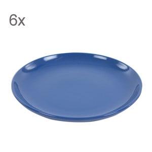 Sada 6 dezertních talířů Kaleidos 21 cm, modrá