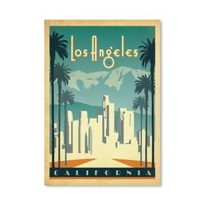 Plakát Americanflat LA, 42 x 30 cm