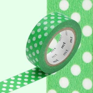 Washi páska Dot Dot Green
