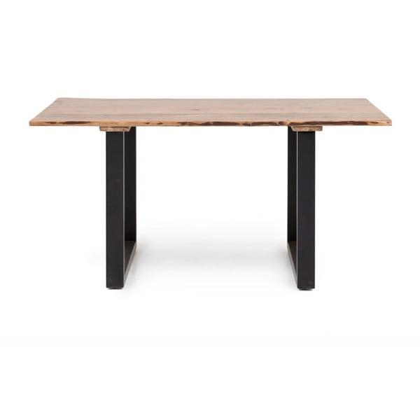 Industrial akácfa étkezőasztal, 160 x 60 cm - WOOX LIVING