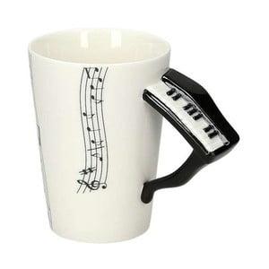 Porcelánový hrnek Gift Republic Piano