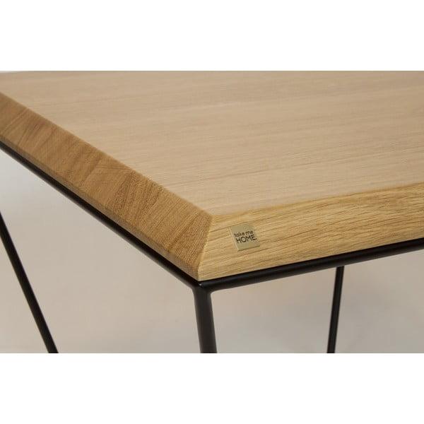 Odkládací stolek Diamond Black