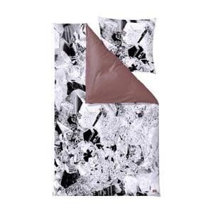Lenjerie de pat Södahl Pyrite Berry, 140 x 200 cm