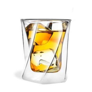 Pahar cu perete dublu whiskey Vialli Design, 300 ml