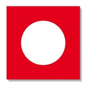 Barevné ubrousky Red Point, 40 ks