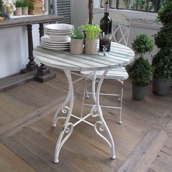 Stůl Country White, 70x75 cm