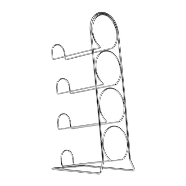 Stojak na butelki Premier Housewares Chrome Wine Rack