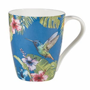 Hrnek z kostního porcelánu Churchill Reignforest Hummingbird, 390 ml