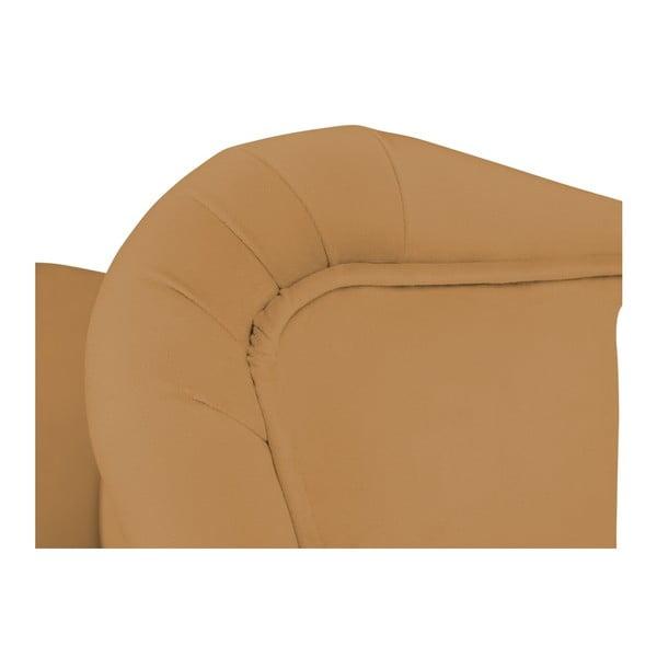Horčicově žlutá barová židle Mazzini Sofas Roco