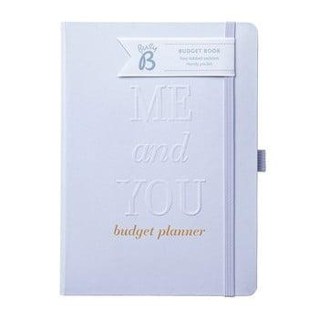 Caiet de nuntă pentru buget Busy B, argintiu imagine