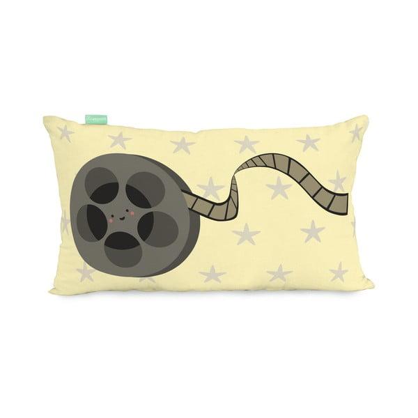 Povlak na polštář z čisté bavlny Happynois Pop Corn, 50 x 30 cm