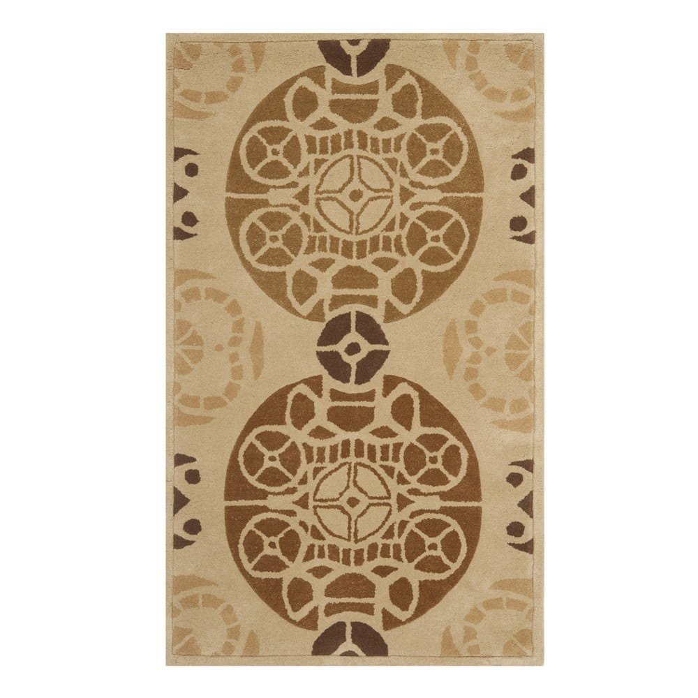 Ručně vyšívaný koberec Safavieh Nelson, 182 x 121 cm