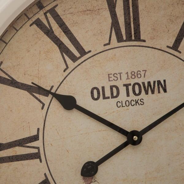 Nástěnné hodiny Town, 66 cm