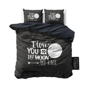 Bavlněné povlečení Dreamhouse Moon and Back, 240x200cm
