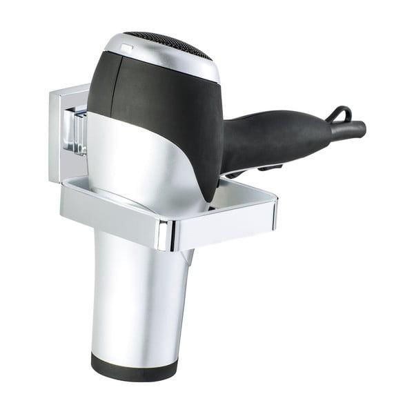 Suport pentru uscătorul de păr Wenko Hair cu sistem de prindere Vacuum-Loc, până la 33 kg