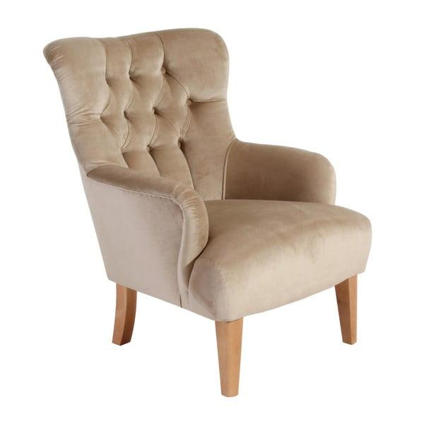 Brandon Suede bézs színű fotel - Max Winzer