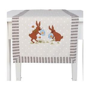 Běhoun na stůl Clayre & Eef Rabbit