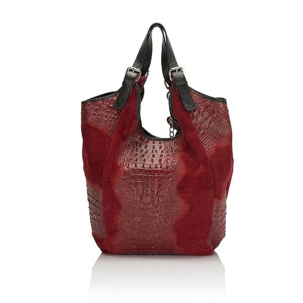 Kožená kabelka Giorgio Costa 15022 Red