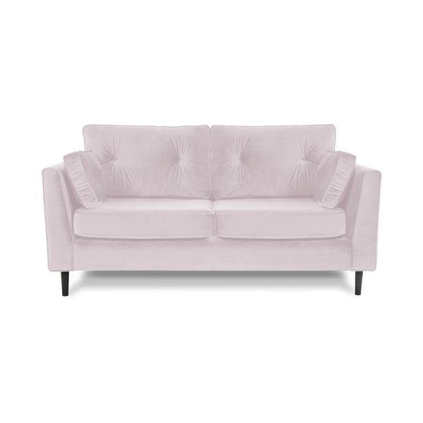Canapea cu 3 locuri Vivonita Portobello, mov deschis