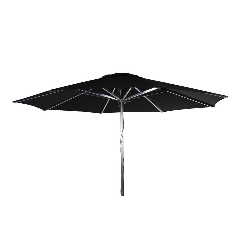Černý slunečník Brafab Empoli, ∅350cm