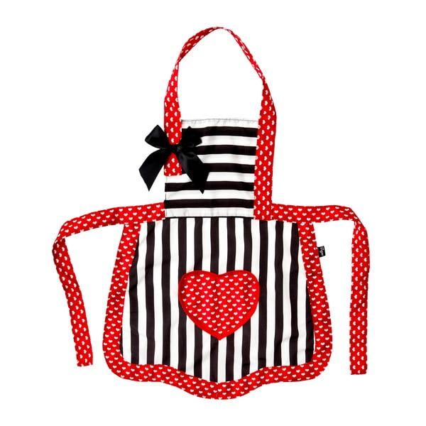 Dětská kuchyňská zástěra s čepcem Vigar Red
