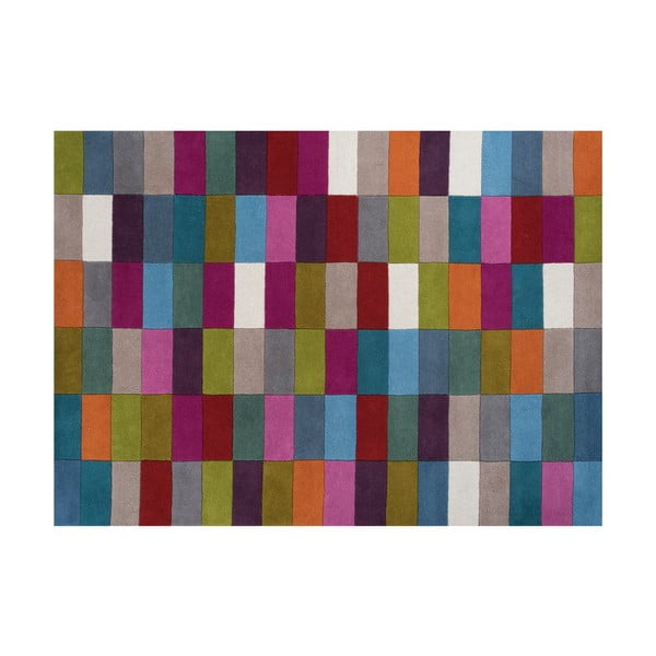 Vlněný koberec Romina Mixed, 170x240 cm