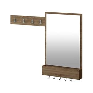 Předsíňová sestava se zrcadlem Nendaz, 108 x 12 x 85 cm