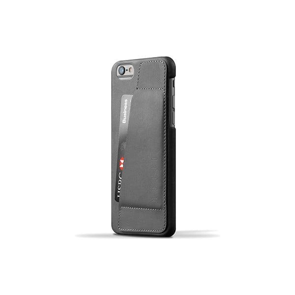 Peněženkový obal Mujjo na telefon iPhone 6 Gray