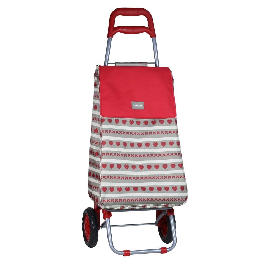 Pojízdná nákupní taška Sabichi Home Bistro