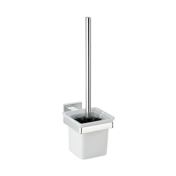 Express-Loc Formia fúrásmentes fali WC-kefe tartó - Wenko