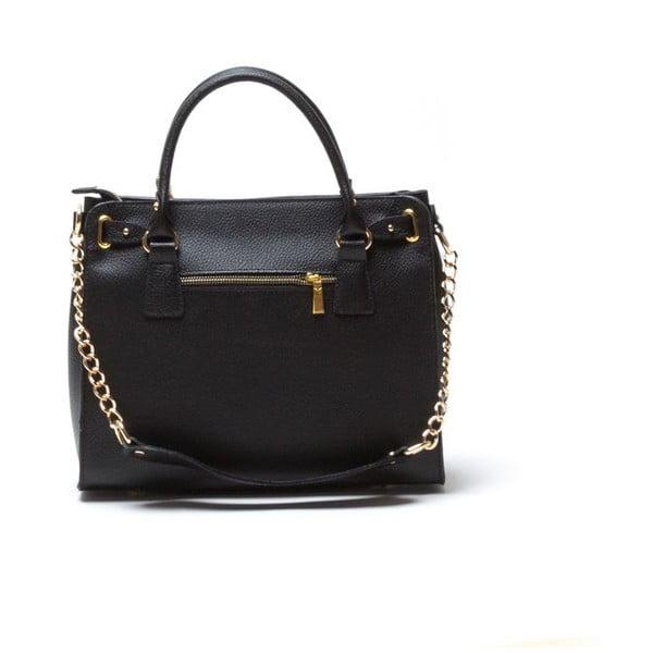 Kožená kabelka Rosella, černá