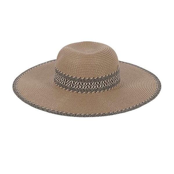 Slaměný klobouk Beige