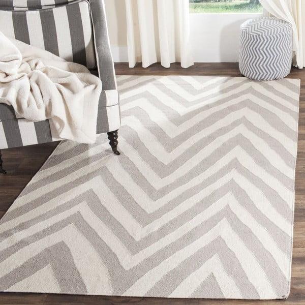 Vlněný koberec Safavieh Serena Dhurie, 91x152cm