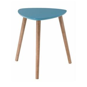 Modrý odkládací stolek Nomad