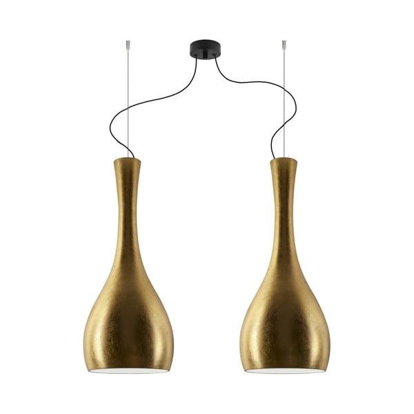 Dvojité světlo ITTEKI Elementary gold/black/black
