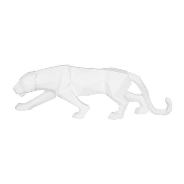 Matně bílá soška PT LIVING Origami Panther