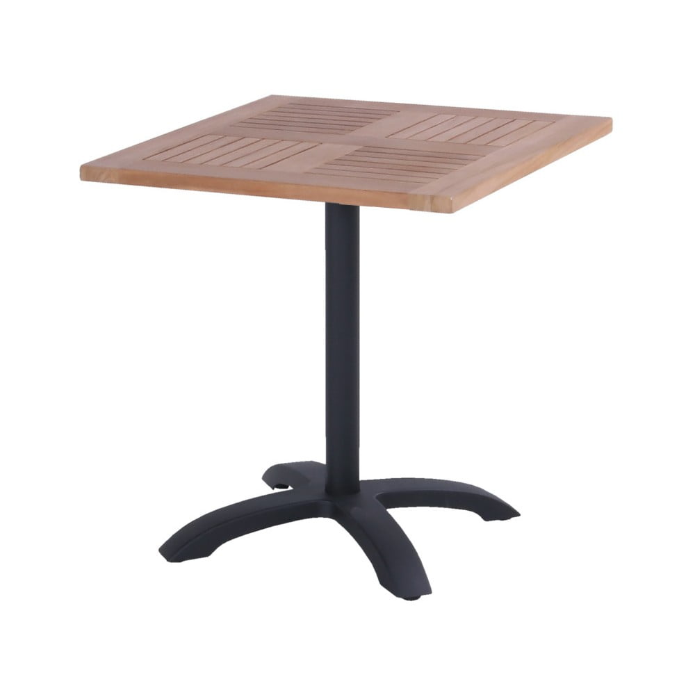 Zahradní stolek z teakového dřeva Hartman Sophie Bistro, 70 x 70 cm