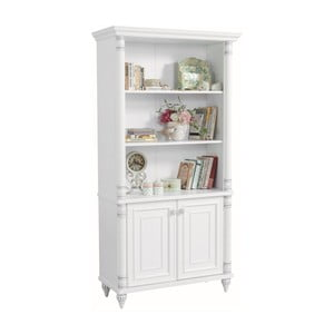 Bílá knihovna Romantic Large Bookcase