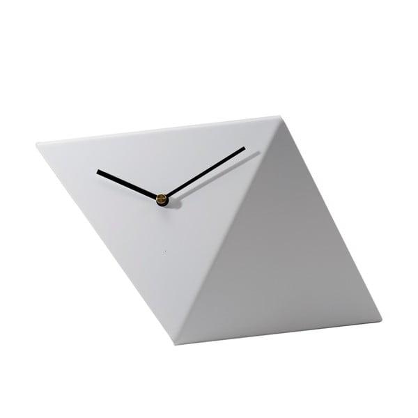 Stolní hodiny Clock 25 cm, bílé
