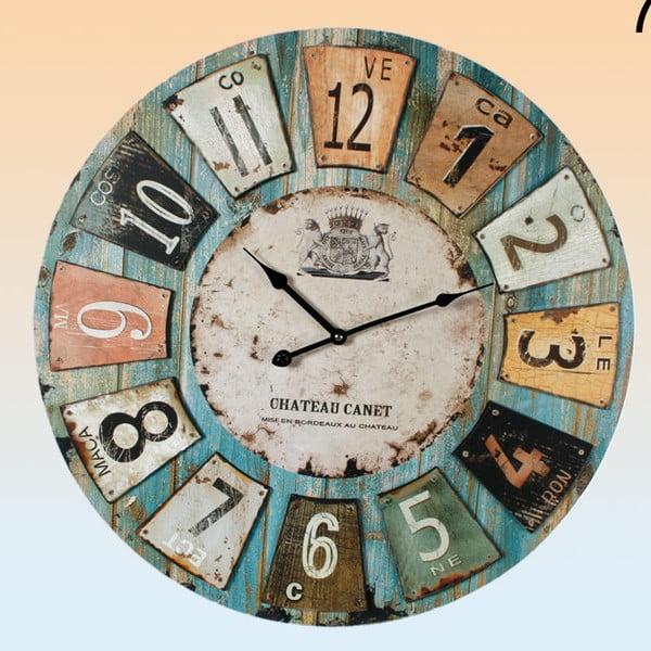 Nástěnné hodiny Chateau Canet