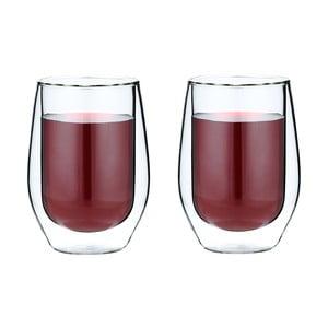 Sada 2 dvojitých long sklenic Amo, 400 ml