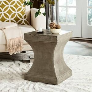 Betonový zahradní stolek vhodný do exteriéru Safavieh Pierce