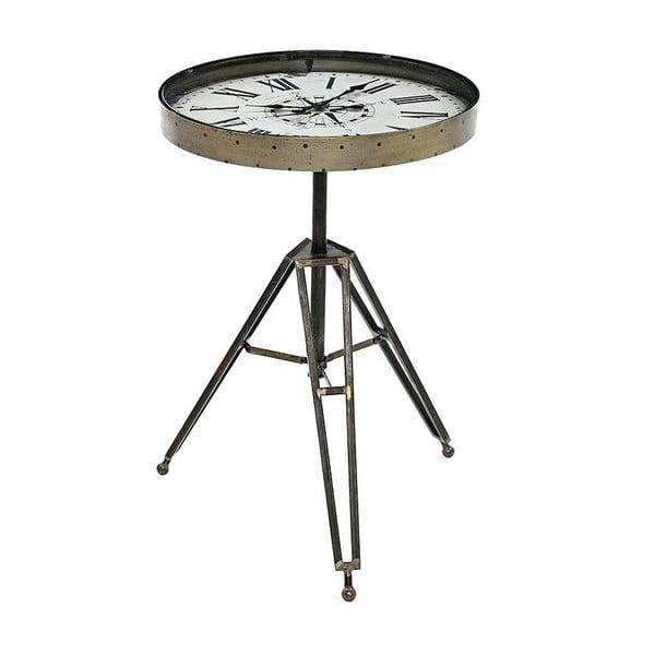 Odkládací stolek s hodinami Clock Table