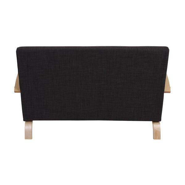 Dvoumístná sedačka Spiez Dark Brown