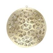 Nástěnná kovová dekorace ve zlaté barvě ASimple Mess Gerda, ⌀21cm