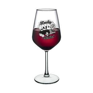 Sklenice na víno Vivas Strike, 345 ml