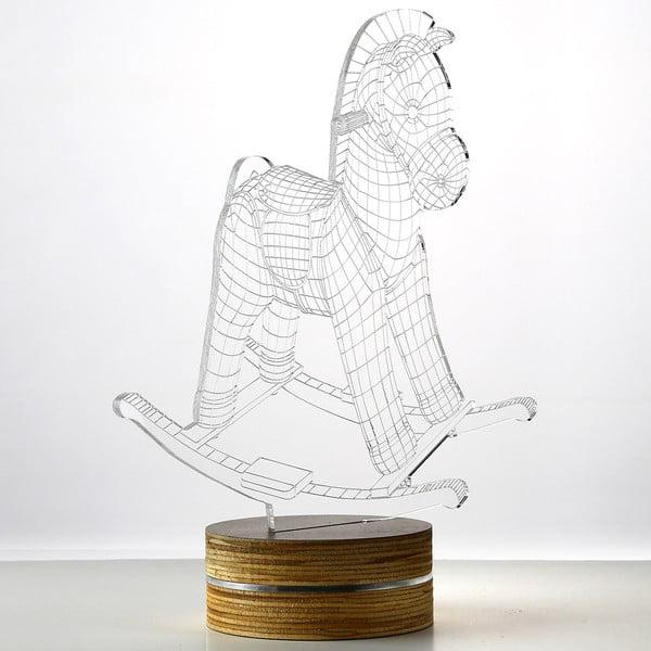 3D stolní lampa Horse