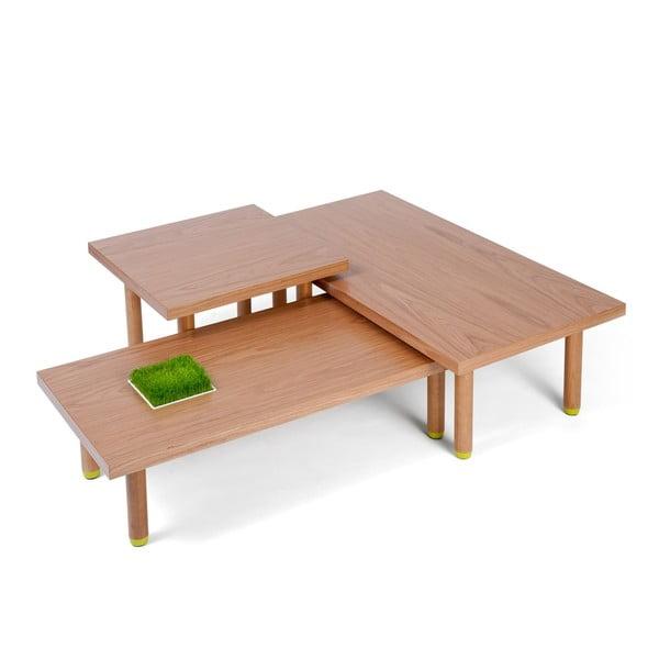 Set stolků Haru S+M+L (různé barvy)