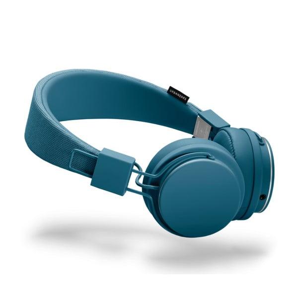 Căști audio cu microfon Urbanears PLATTAN II Indigo, albastru